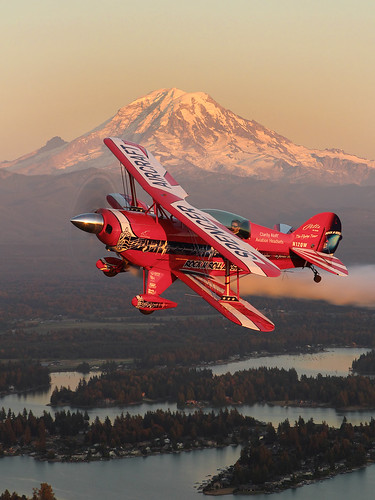 Will Allen and Mt Rainier | by airshow.fan