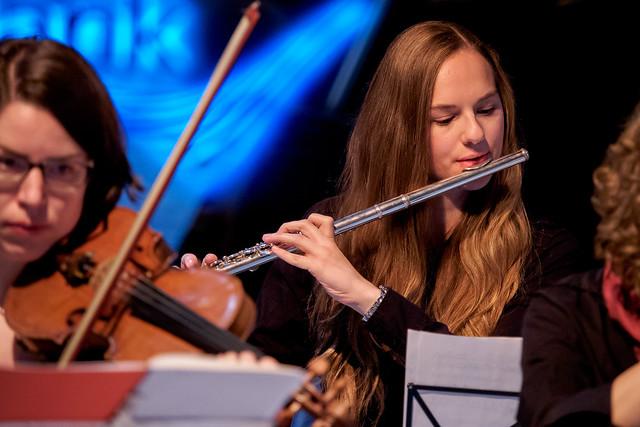 Grüntöne Orchester Foto: Stephan Röhl