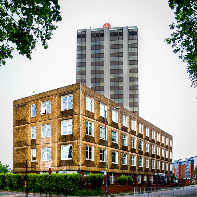 Apollo House (1970) and the Ramada Hotel Coventry (1979)