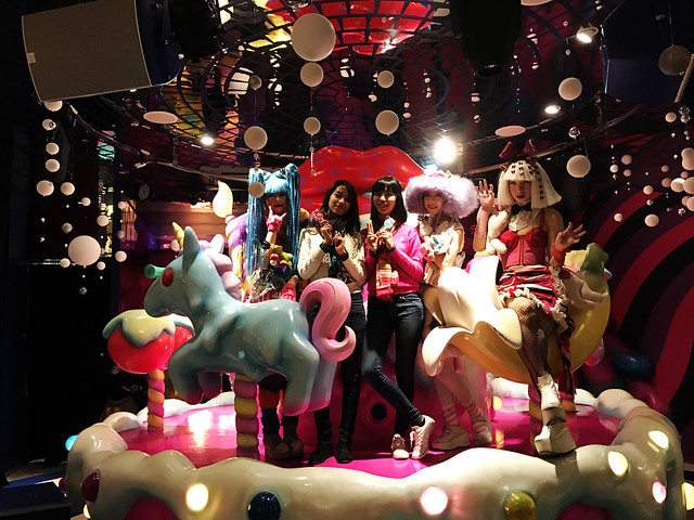 With the Hosts at Kawaii Monster Cafe