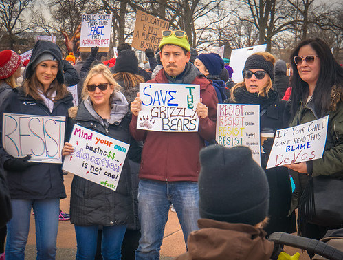 2017.01.29 Oppose Betsy DeVos Protest, Washington, DC USA 00263 | by tedeytan
