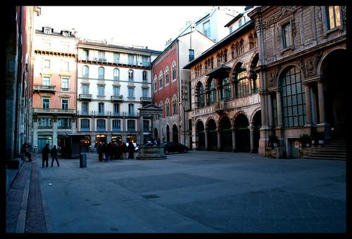 milano, piazza mercanti | by luiginter