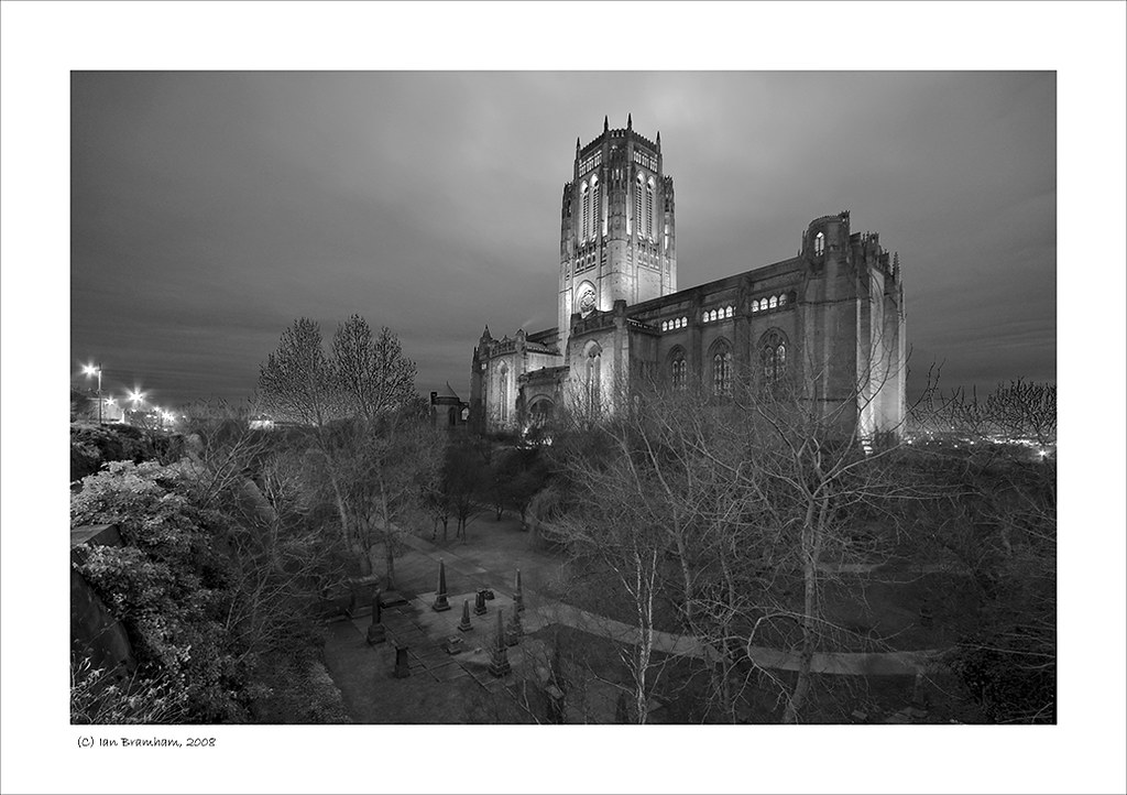 Liverpool Cathedral at Dusk by Ian Bramham