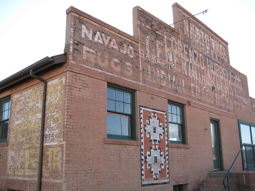 Old Lorenzo Hubbell Co. Trading Post in Winslow   by puroticorico