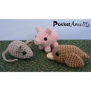 Mouse Amigurumi Free Crochet Pattern • Spin a Yarn Crochet | 320x320