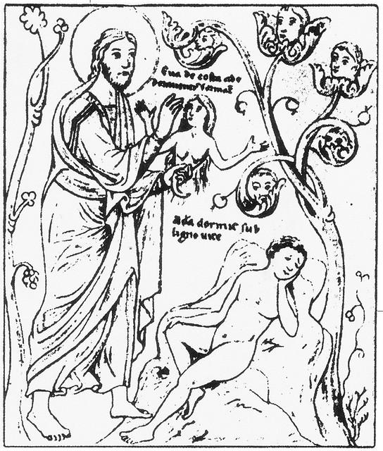 エルラド・ド・ランズブール「悦楽の園」(12世紀末~1205頃)
