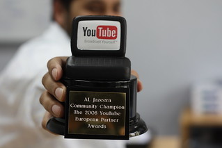 Al Jazeera wins YouTube Award | by mohamedn