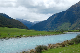 the beginning of our hike to rob roy glacier, mount aspiring national park | by hopemeng