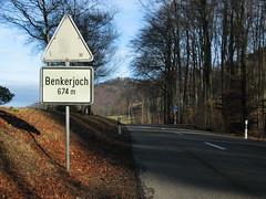 Passhöhe Benkerjoch
