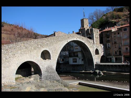 Bridge of 12th century  in Camprodon