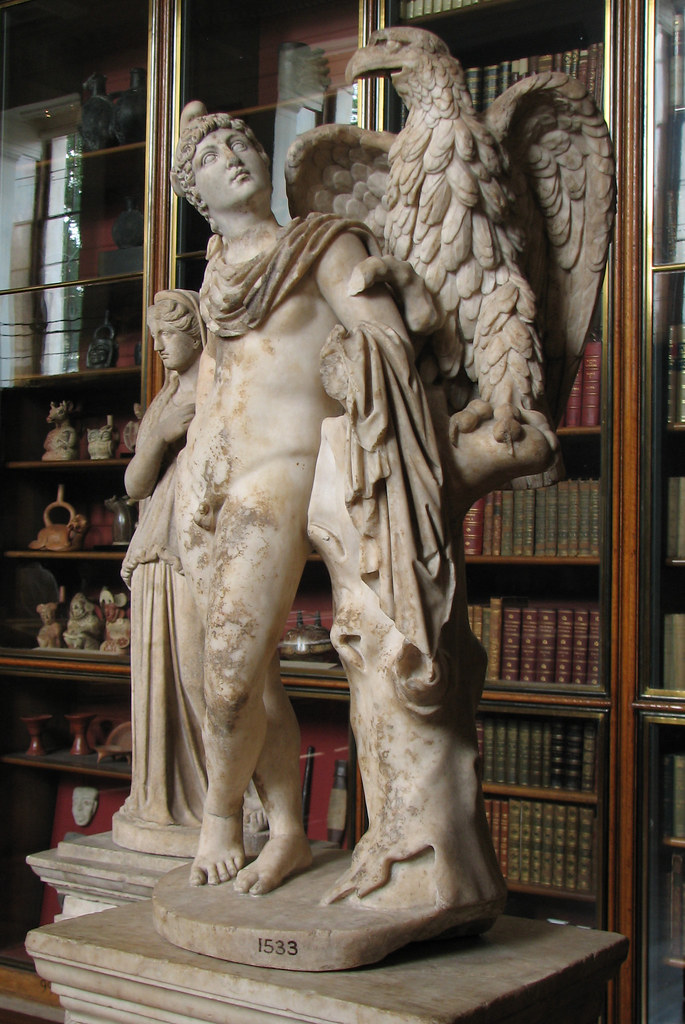 """Zeus & Ganymede at the British Museum 