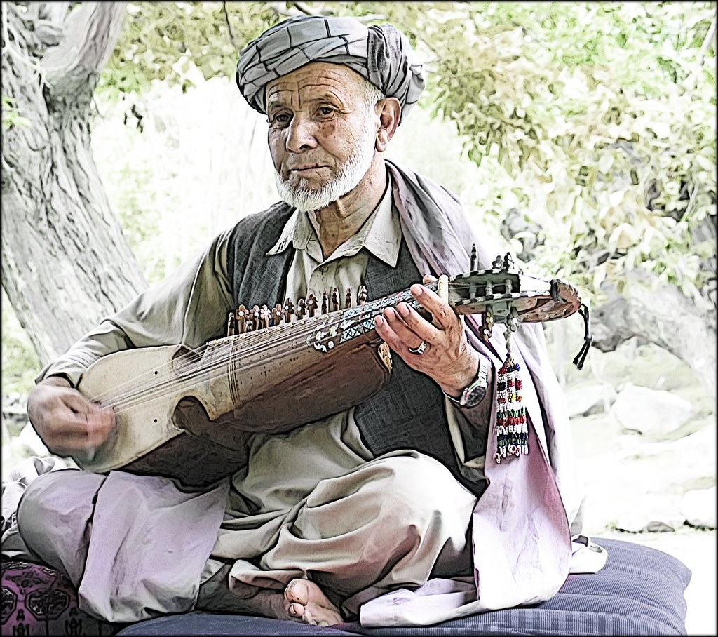 Afghan Music | This is a manipulation of one of the very few… | Flickr