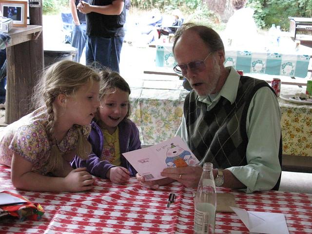 Grandpa Ted's Helpers