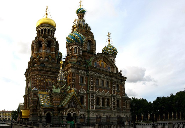 7769-7771a - St Petersburg - Church of the Savior on Spilled Blood