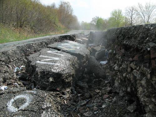 Centralia Pennsylvania Coal Fire 2008   by rocbolt