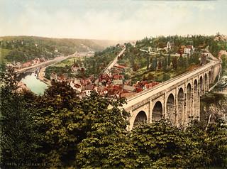 Viaduct, Dinan, France, ca. 1895