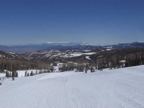 winter vacation mountain snow ski snowflakes utah scenery skiing view views majestic brianhead