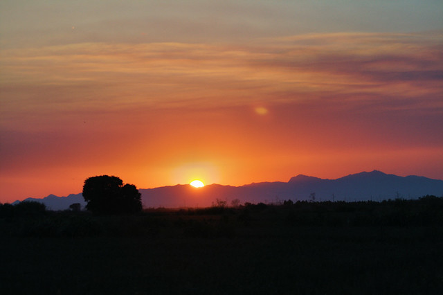 Sunset Over the Gila River Indian Community 2