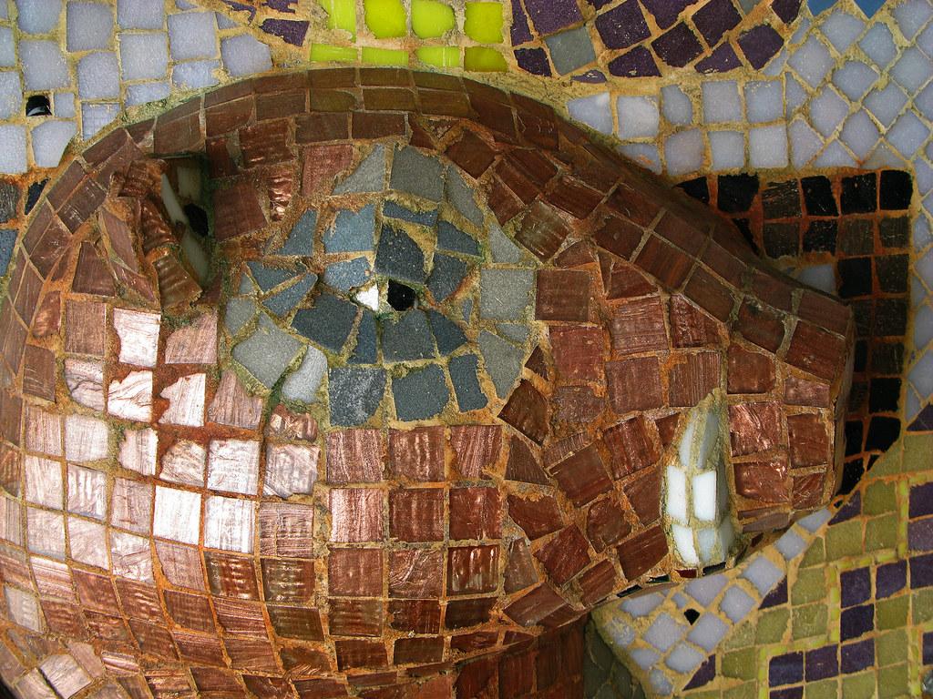 Vildsvinet 2 Mosaik Av Ernst Billgren 1992 Anders Lennver