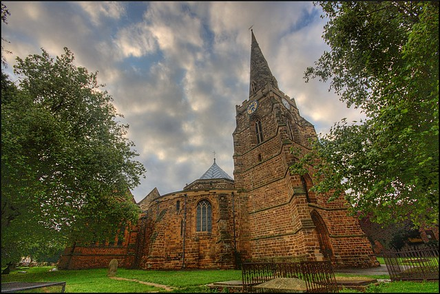 Church of the Holy Sepulchre, Northampton (HDR)