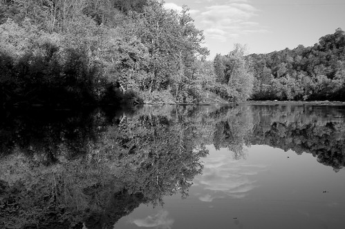 Reflection on the French Bread River | by ellievanhoutte