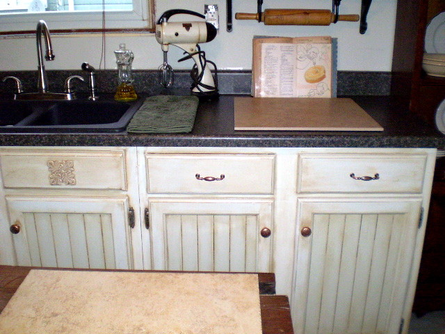 Handpainted Faux Finished Kitchen Cabinets Susan Briggs Flickr