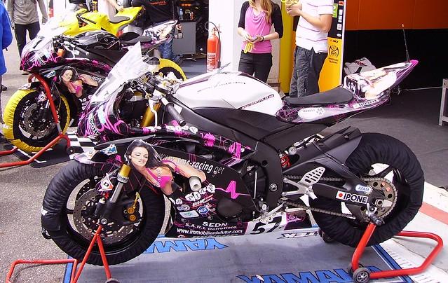 Yamaha d'Alex Plancassagne