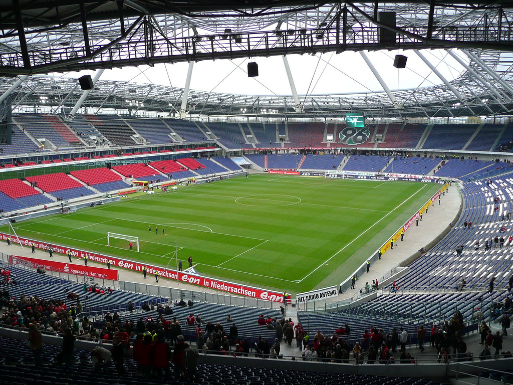 The AWD Arena - Home of Hannover 96 Fußball Club   12 ...