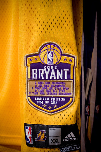newest collection 46ac0 5d19e Kobe Bryant - Limited Edition Jersey | June 12, 2008 - Los A ...