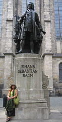 Me and JS at Thomaskirke, Leipzig '07