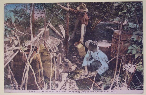 Vintage Postcard, The Moonshiners in the the Mountains of North Carolina | by riptheskull