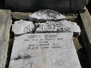 Bush Headstone at Greendale Cemetery, NSW