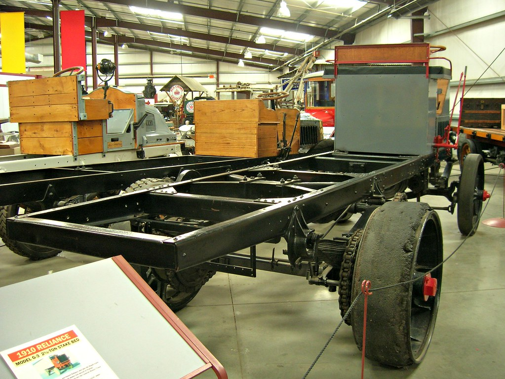 1914 Locomobile Model A 5 Ton Chassis 2
