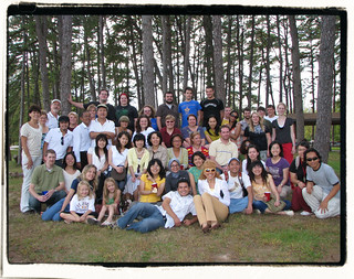 Linguistics Student Association, Potluck Group Photo II with frame | by steve: they can't all be zingers!!! (primus)