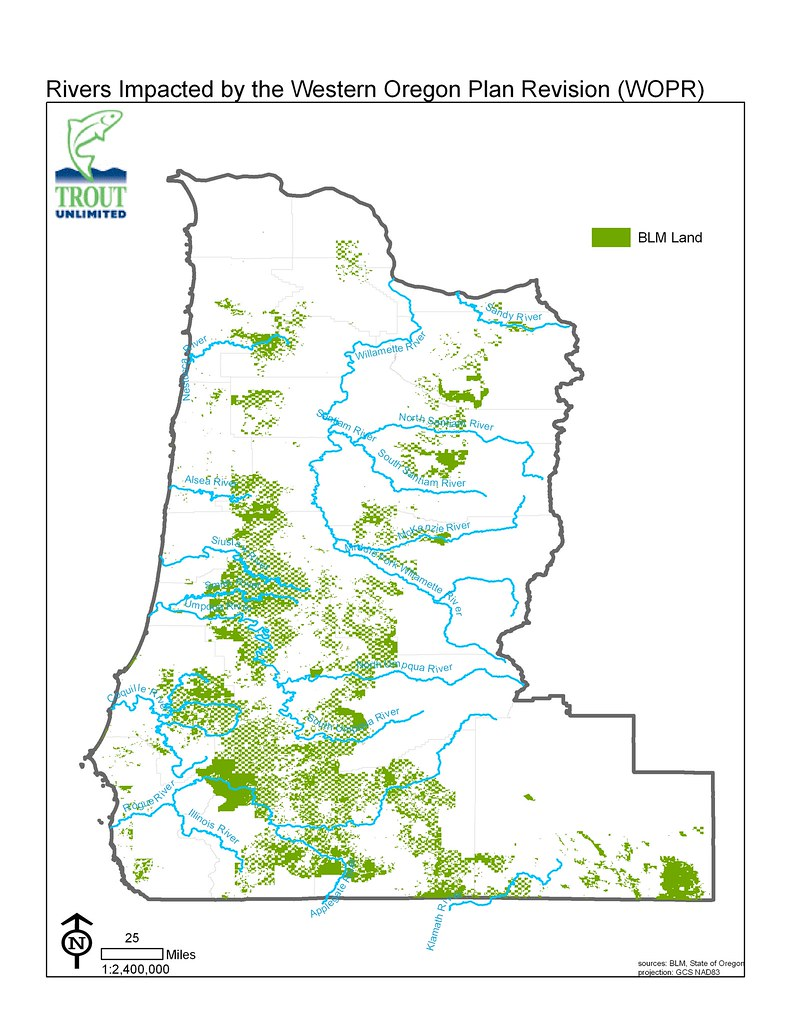 Rivers Impacted by the Western Oregon Plan Revision (WOPR ...