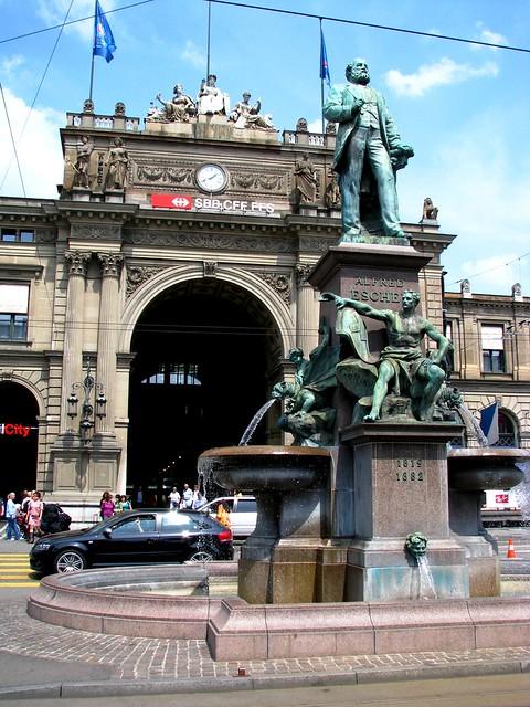 Main Train Station, Zurich, Switzerland