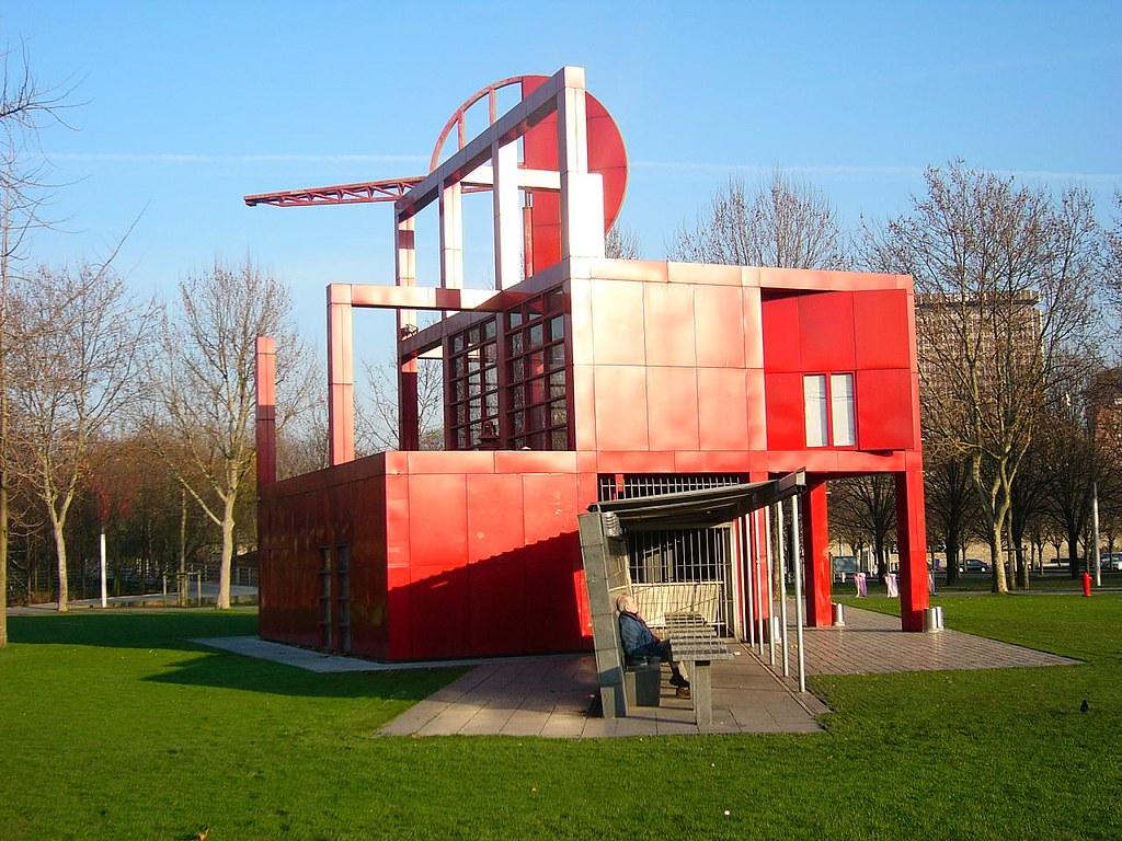 Bernard Tschumi- Park de la Villette, 1987-91