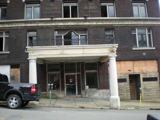 Rogers Hotel Entryway