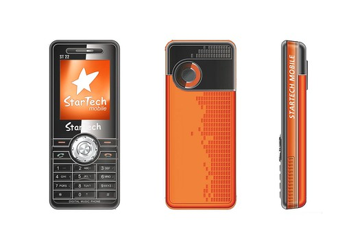 ST 22 Black - Orange