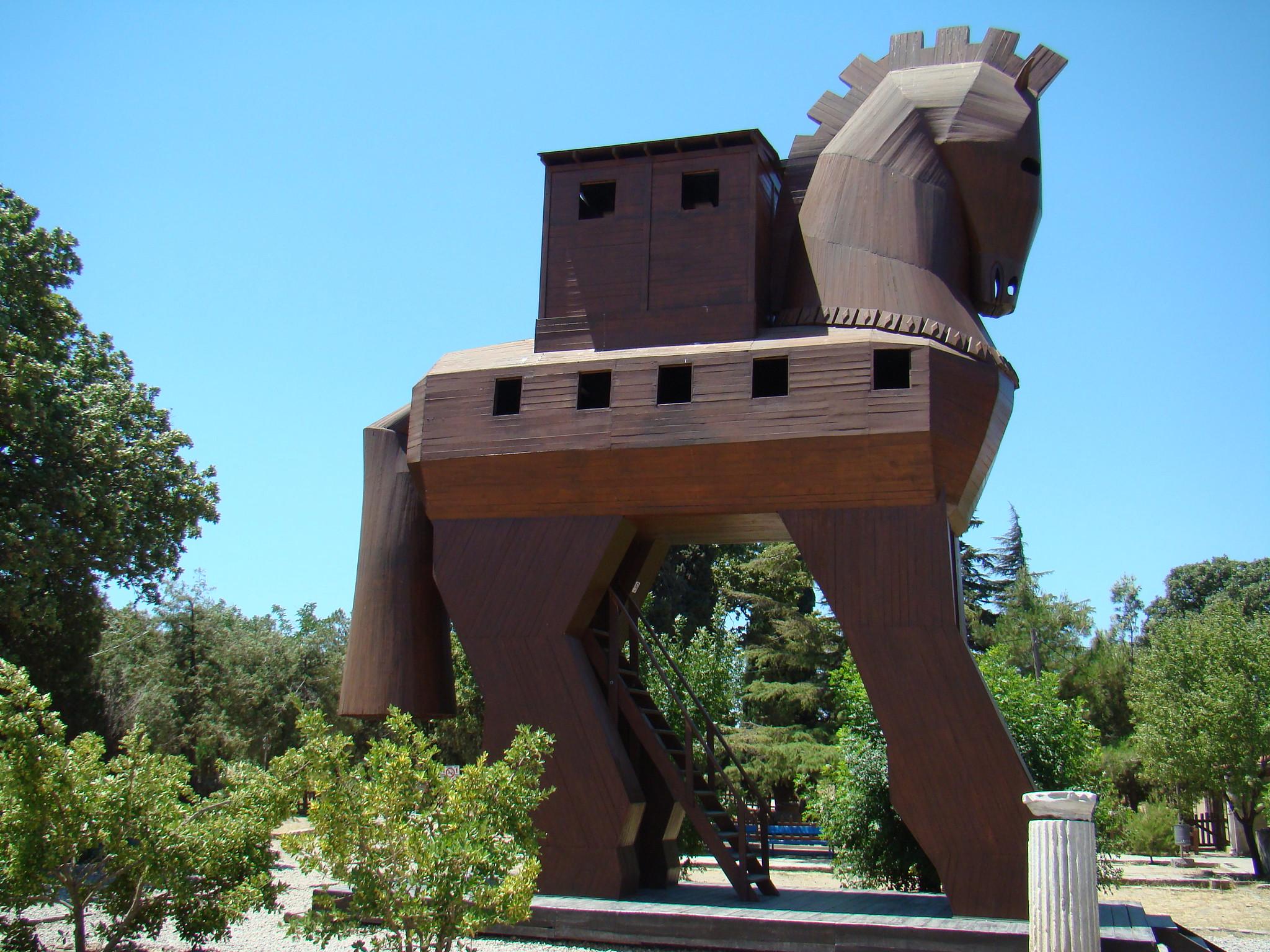 caballo de Troya Turquía