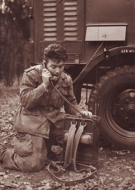 Father as a radio operator
