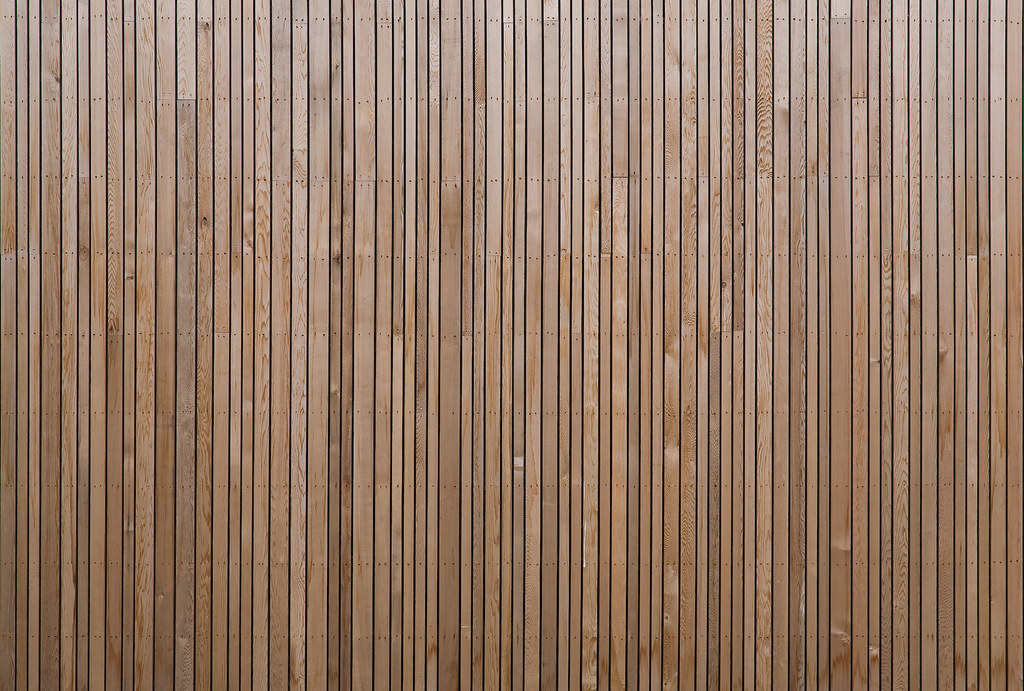 Western Red Cedar Vertical Cladding From Thomas