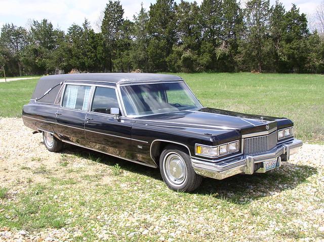 1975 S&S Cadillac Victoria Hearse