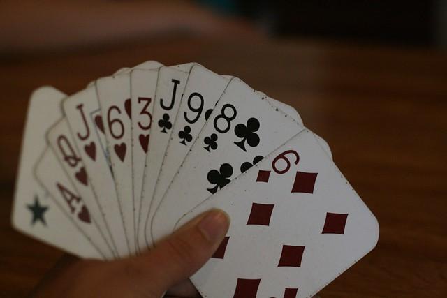 The winning hand...?