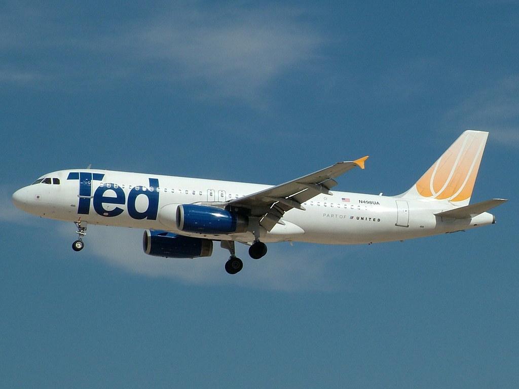 N498UA A320-232 TED (United Airlines)