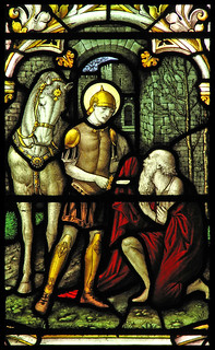 St Martin and the Beggar   by Lawrence OP