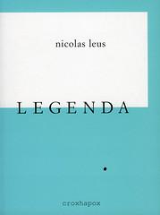 WAADRUIM : LEGENDA<br /> Nicolas Leus<br /> ISBN 97890-76593-08-1<br /> D/2007/8545/3<br /> copyright 2007 croxhapox,B-Gent<br /> copyright tekst en foto's : Nicolas Leus</p> <p>front