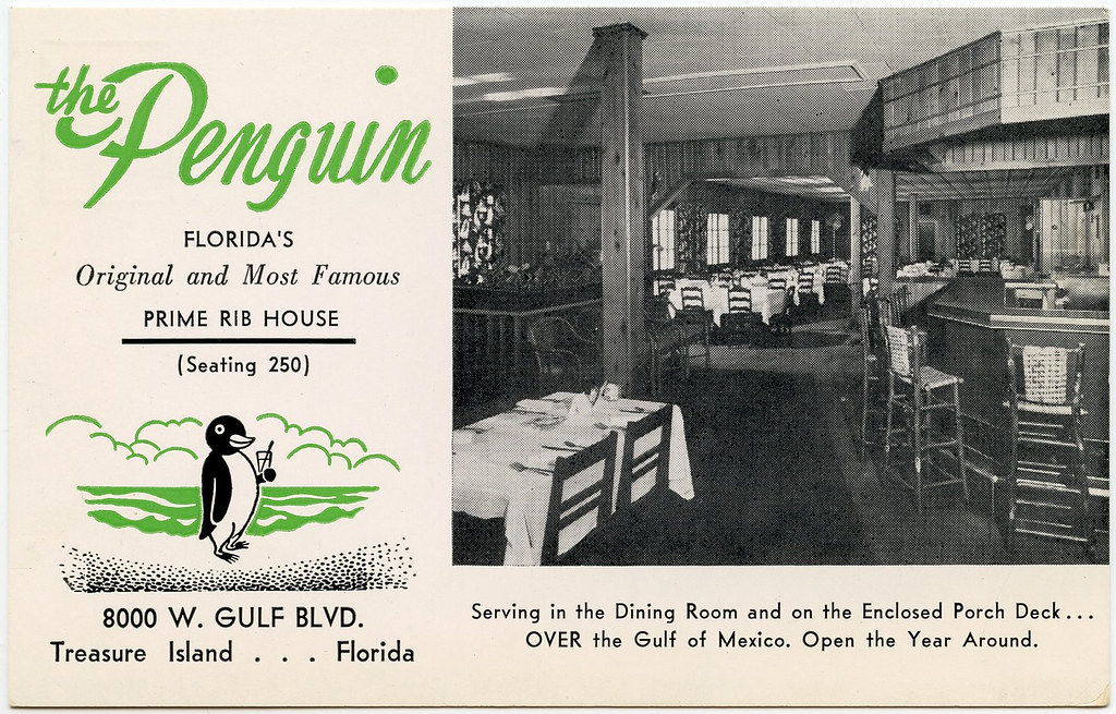 The Penguin Florida S Original And Most Famous Prime Rib