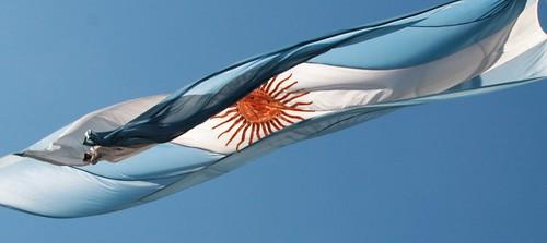 Bandera argentina, Buenos Aires
