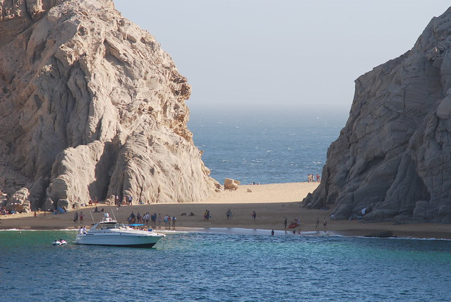 Sand Spit off of Cabo San Lucas
